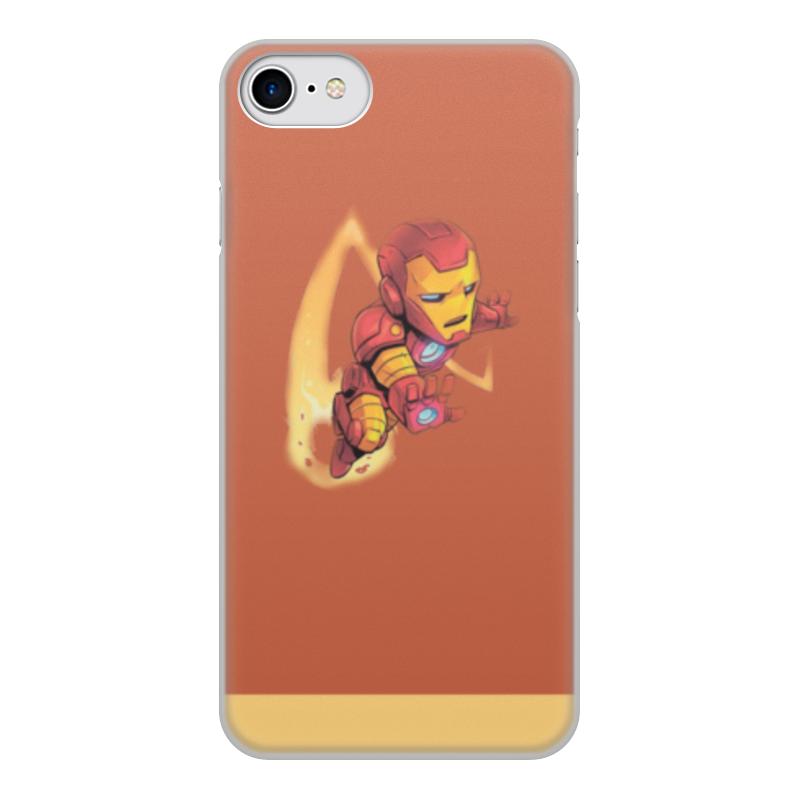 Чехол для iPhone 7, объёмная печать Printio Iron man: prime armor чехол для lenovo a6000 с окошком для входящих вызовов с магнитной застежкой белый armor m