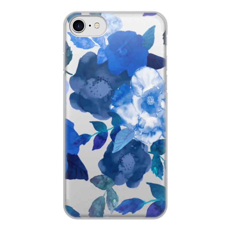 Чехол для iPhone 7, объёмная печать Printio Цветы чехол для apple iphone 8 7 silicone case white