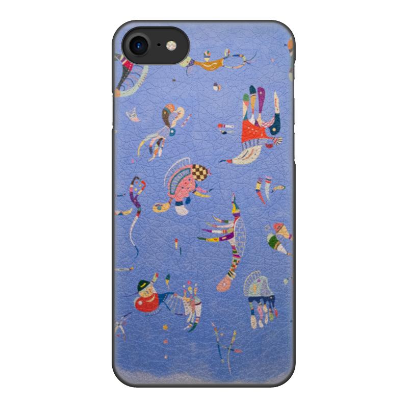 Чехол для iPhone 7, объёмная печать Printio Синее небо (василий кандинский) кандинский блокнот