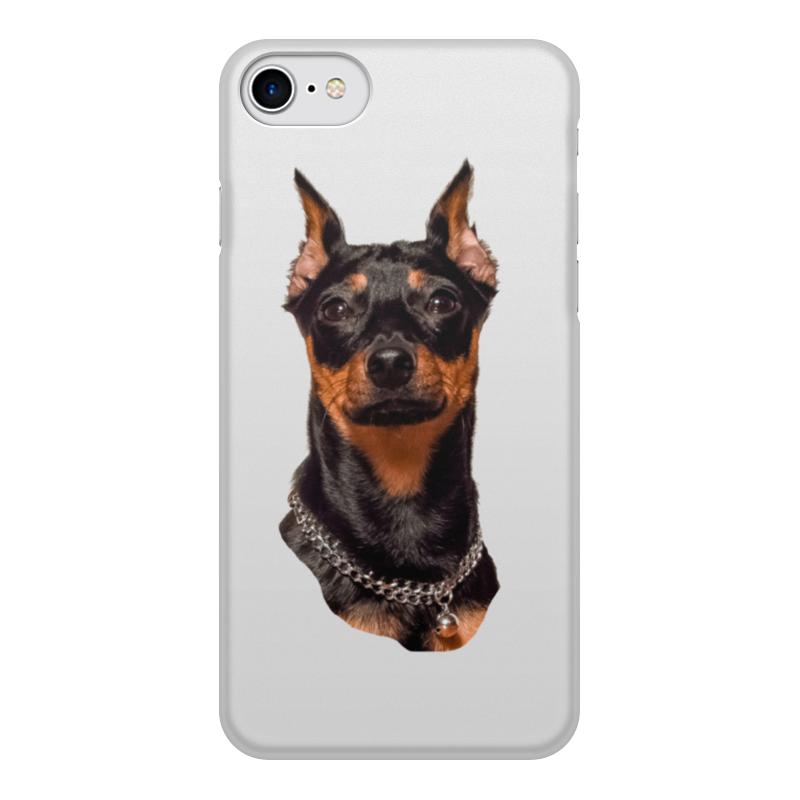 Чехол для iPhone 7, объёмная печать Printio Зоркий взгляд чехол для iphone 7 plus глянцевый printio 2018 год собаки