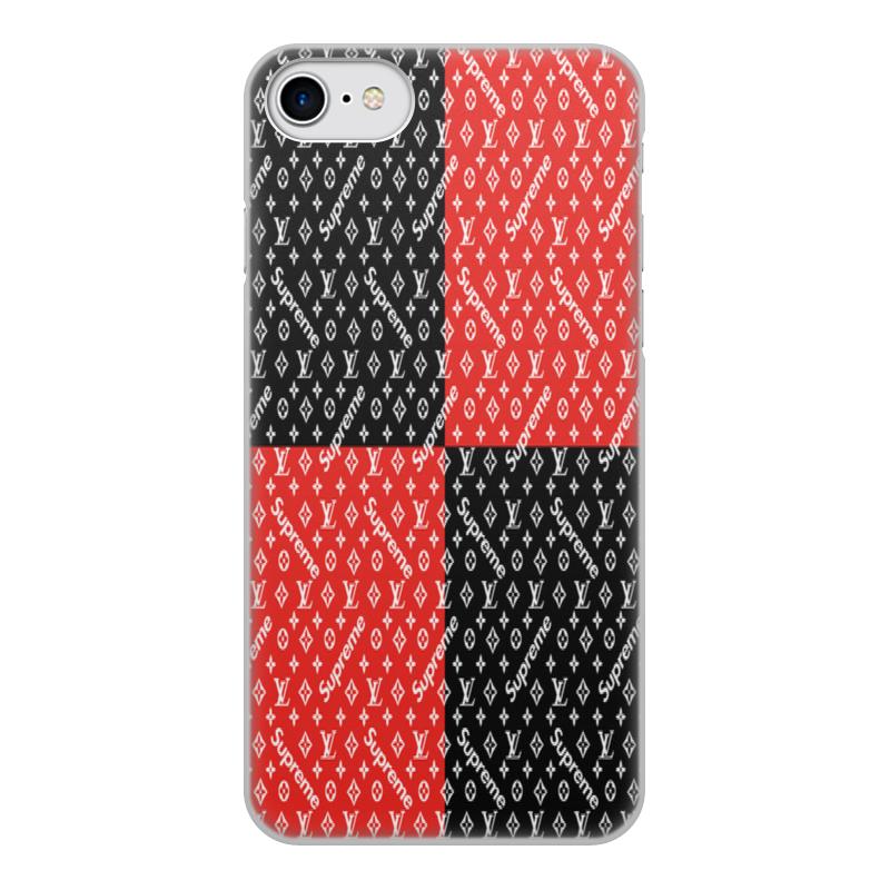 Чехол для iPhone 7, объёмная печать Printio Supreme чехол аккумулятор deppa nrg case 2600 mah для iphone 7 белый 33520