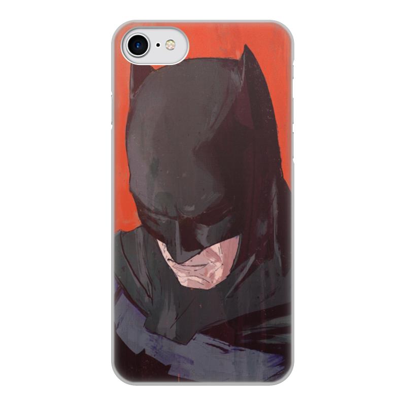 Чехол для iPhone 7, объёмная печать Printio Бэтмен чехол для apple iphone 8 7 silicone case white