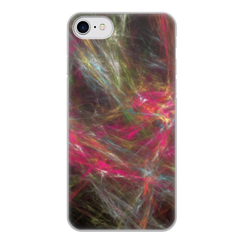 Чехол для iPhone 7, объёмная печать Printio Абстрактный дизайн чехол аккумулятор deppa nrg case 2600 mah для iphone 7 белый 33520