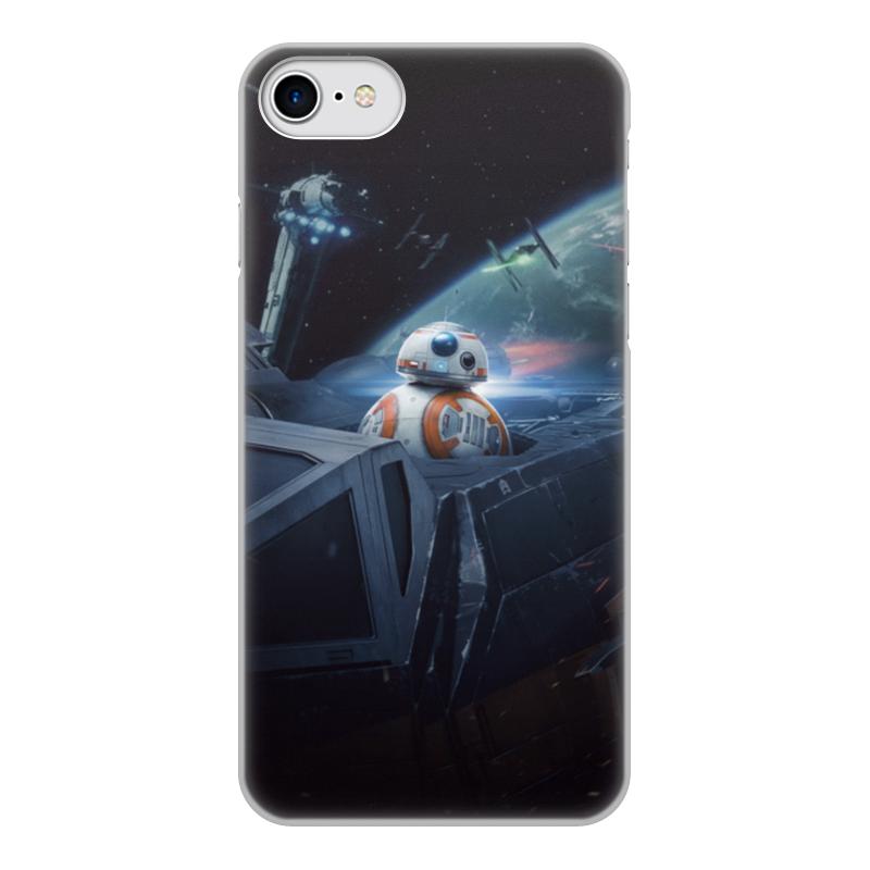 Чехол для iPhone 7, объёмная печать Printio Star wars star pattern tpu soft case for iphone 7 pink