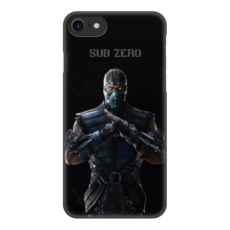 Чехол для iPhone 7, объёмная печать Printio Mortal kombat x (sub-zero) original new 4 7 dexp ixion x 4 7 touch panel digitizer glass sensor touch screen replacement free shipping