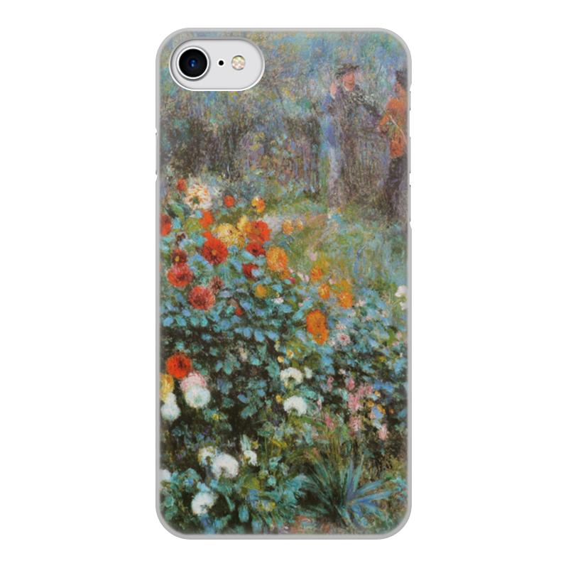 Чехол для iPhone 7, объёмная печать Printio Сад на улице корто (