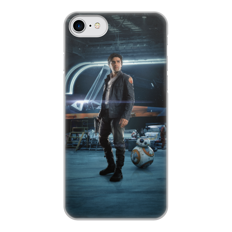 Чехол для iPhone 7, объёмная печать Printio Звездные войны - по дамерон