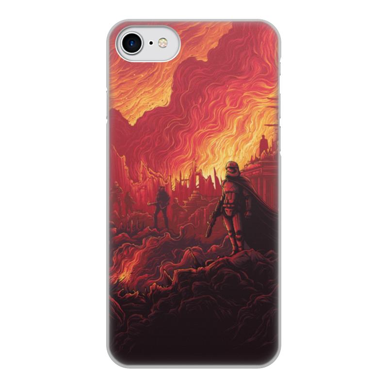 Чехол для iPhone 7, объёмная печать Printio Звездные войны 7 inch capacitive touch screen