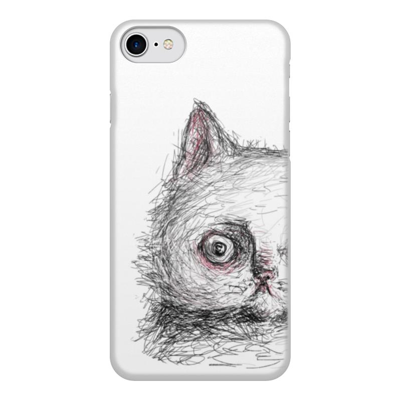 Чехол для iPhone 7, объёмная печать Printio Надо больше спать цены