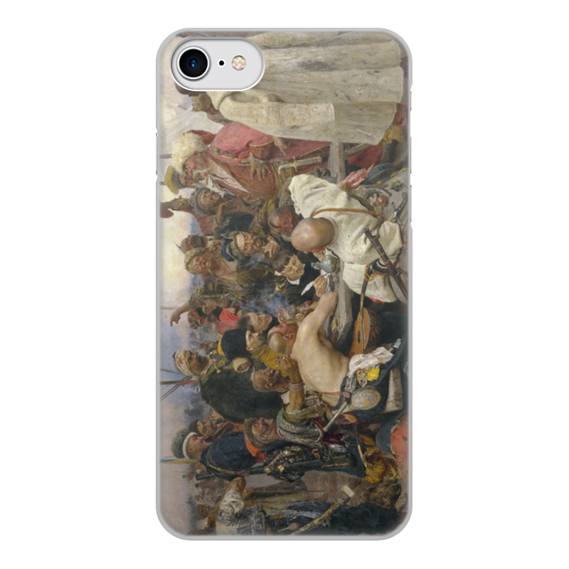 Printio Запорожцы (картина репина) чехол для iphone 6 объёмная печать printio запорожцы картина репина