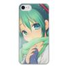 """Чехол для iPhone 7, объёмная печать """"Miku Hatsune Sush"""" - аниме, hatsune, мику, бесконечное лето, miku"""