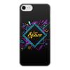 """Чехол для iPhone 7, объёмная печать """"Love Space"""" - космос, звезды, вселенная"""