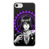 """Чехол для iPhone 7, объёмная печать """"Тёмный дворецкий"""" - аниме, манга, себастьян, black butler, тёмный дворецкий"""