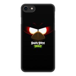 """Чехол для iPhone 7, объёмная печать """"Space (Angry Birds)"""" - space, игра, мультфильм, птица, angry birds"""