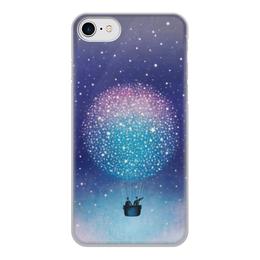 """Чехол для iPhone 7, объёмная печать """"Воздушный шар"""" - воздушный шар"""