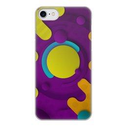 """Чехол для iPhone 7, объёмная печать """"Абстрактный"""" - орнамент, стиль, рисунок, узор, абстрактный"""
