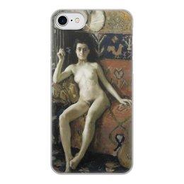 "Чехол для iPhone 7, объёмная печать ""Без маски (Аксели Галлен-Каллела)"" - картина, реализм, живопись, ню, галлен-каллела"