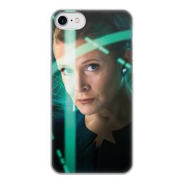 """Чехол для iPhone 7, объёмная печать """"Звездные войны - Лея"""" - кино, фантастика, star wars, звездные войны, дарт вейдер"""