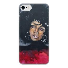 """Чехол для iPhone 7, объёмная печать """"Богиня Кали"""" - женскийобраз, богиня, творчество, магия"""
