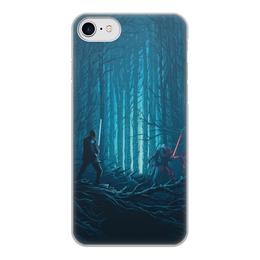 """Чехол для iPhone 7, объёмная печать """"Звездные войны"""" - кино, фантастика, star wars, звездные войны, дарт вейдер"""