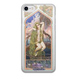 """Чехол для iPhone 7, объёмная печать """"Русалка"""" - россия, русь, модные, славянский стиль"""