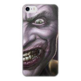 """Чехол для iPhone 7, объёмная печать """"Джокер"""" - joker, batman, джокер"""