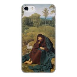 """Чехол для iPhone 7, объёмная печать """"Иоанн Креститель (Гертген тот Синт Янс)"""" - картина, живопись, гертген тот"""