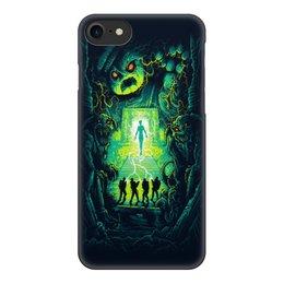 """Чехол для iPhone 7, объёмная печать """"Ghost busters"""" - мультфильм, кино, фантастика, сказка, охотники за приведениями"""