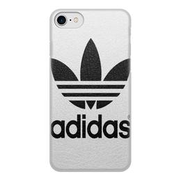 """Чехол для iPhone 7, объёмная печать """"adidas"""" - модная"""