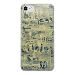 """Чехол для iPhone 7, объёмная печать """"Ретро"""" - ретро"""
