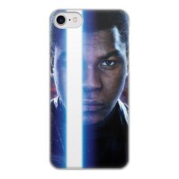 """Чехол для iPhone 7, объёмная печать """"Звездные войны - Финн"""" - кино, фантастика, star wars, звездные войны, дарт вейдер"""