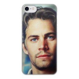 """Чехол для iPhone 7, объёмная печать """"Пол Уокер Paul Walker"""" - форсаж, актер, пол уокер, paul walker, брайн оконнер"""