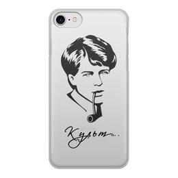 """Чехол для iPhone 7, объёмная печать """"Есенин"""" - культ, есенин, литература"""