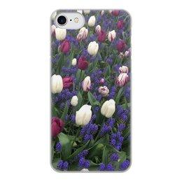 """Чехол для iPhone 7, объёмная печать """"Тюльпаны """" - кружки, чехол, чехлы"""
