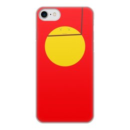 """Чехол для iPhone 7, объёмная печать """"Колобок"""" - колобок"""