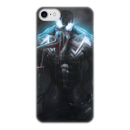 """Чехол для iPhone 7, объёмная печать """"Веном (Venom)"""" - марвел, комиксы, симбиот, comics"""