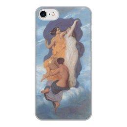"""Чехол для iPhone 7, объёмная печать """"Танец (картина Вильяма Бугро)"""" - картина, академизм, живопись, бугро"""