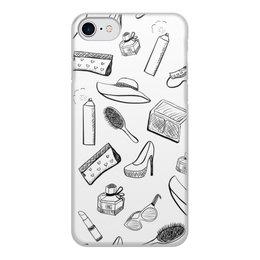 """Чехол для iPhone 7, объёмная печать """"Женские штучки"""" - девушки, girl, янафото"""