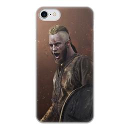"""Чехол для iPhone 7, объёмная печать """"Рагнар Лодброк"""" - сериал, викинги, вальхалла, рагнар, лодброк"""