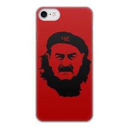 """Чехол для iPhone 7, объёмная печать """"Черчесов"""" - че гевара, russia, россия, футбол, черчесов"""