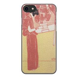 """Чехол для iPhone 7, объёмная печать """"Музыка (Густав Климт)"""" - картина, климт, живопись"""