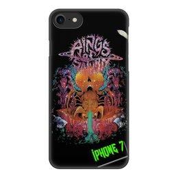 "Чехол для iPhone 7, объёмная печать ""Rings Of Saturn"" - ringsofsaturn, ros"
