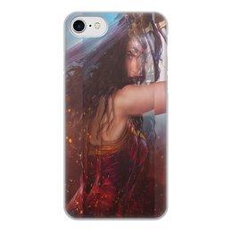 """Чехол для iPhone 7, объёмная печать """"Чудо Женщина. """" - игры, кино, чехол, женский, акссесуар"""