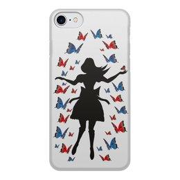 """Чехол для iPhone 7, объёмная печать """"Полет"""" - айфон, полет, алиса"""