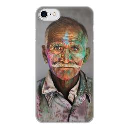 """Чехол для iPhone 7, объёмная печать """"Аксессуар для телефона """" - drawing, picture"""