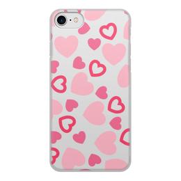 """Чехол для iPhone 7, объёмная печать """"Сердечный"""" - сердце, день валентина, романтичный, любовь, чувства"""