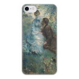 """Чехол для iPhone 7, объёмная печать """"Влюбленные (Пьер Огюст Ренуар)"""" - картина, живопись, ренуар"""