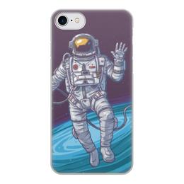 """Чехол для iPhone 7, объёмная печать """"Space"""" - космос, вселенная, наука, астрономия, the spaceway"""