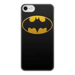 "Чехол для iPhone 7, объёмная печать ""бетмен"" - бэтмен, бетмен, бетман"