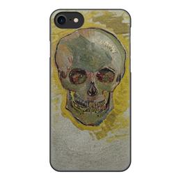 "Чехол для iPhone 7, объёмная печать ""Череп II (Винсент ван Гог)"" - картина, ван гог, живопись"